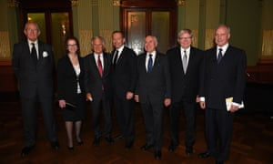 In 2014, AAP photographer Dan Himbrechts managed to snap this picture of Hawke with six other former prime ministers at the memorial for Gough Whitlam. Malcolm Fraser died in March 2015.
