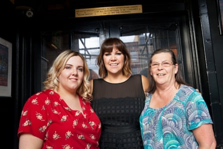 From the left: Emilie, Sue and Pauline Bristow, three generations who have run the White Horse since 1978