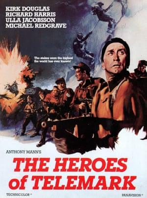 The Heroes of Telemark, 1965, was based on Joachim Rønneberg's daring raid.