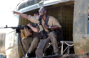 Williams in the movie Mercenary for Justice, 2006