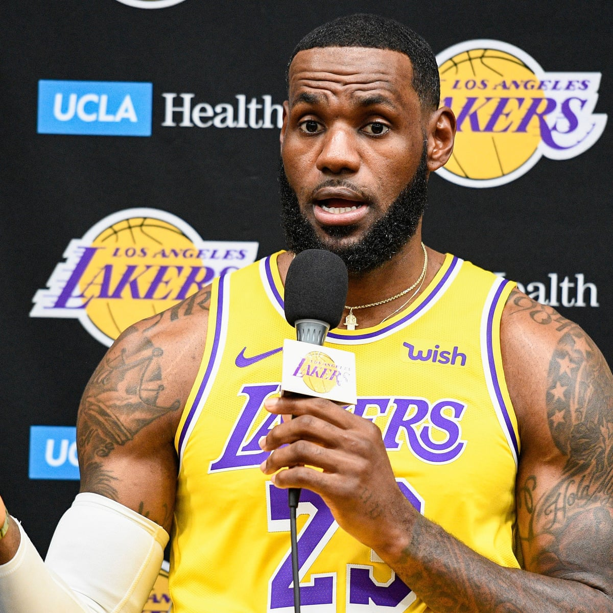 The conservative backlash against LeBron James has nothing to do with human  rights | Sport | The Guardian