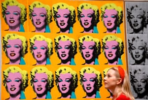 The power of repetition … Andy Warhol's Marilyn Diptych 1962.