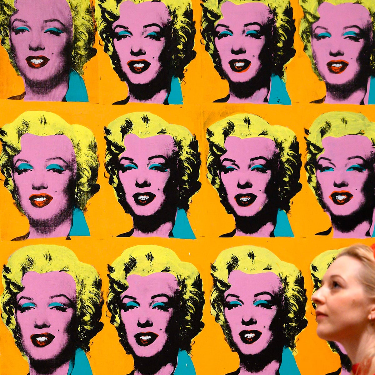 Andy Warhol Review Sex Drag The Velvets And 50 Marilyn Monroes Andy Warhol The Guardian