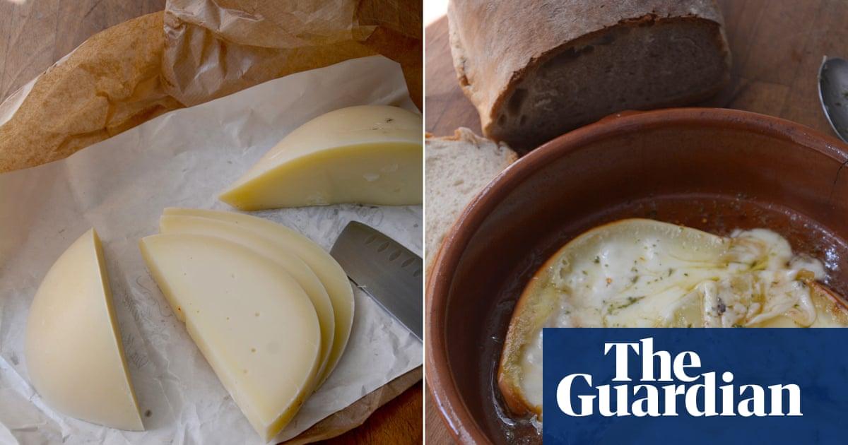 Rachel Roddy's recipe for fried cheese with honey, oregano and vinegar