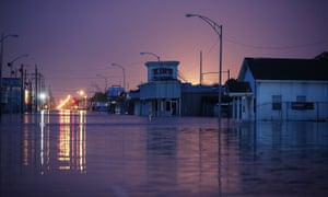 Texas inundated after tropical storm Harvey.