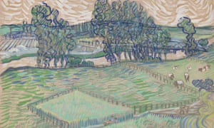 a13a6c3708e156 Van Gogh watercolour not as dreary as it looks, Tate discovers | Art ...