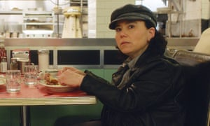 Alex Borstein plays Susie Myerson in a scene from The Marvelous Mrs Maisel.