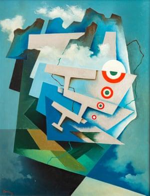 Tullio Crali's Tricolour Wings, 1932.