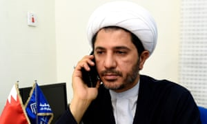 Sheik Ali Salman, secretary general of Bahrain's main opposition group Al Wefaq.