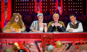 Christmas Cookie Challenge Judges.Strictly Come Dancing Christmas Special Live Television