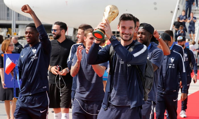 Excitement continues for France after winning FIFA World Cup 2018