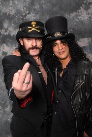 Lemmy and Slash.