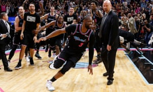 Dwyane Wade turns back years to down Warriors with three