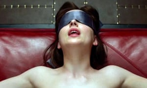 A scene from Fifty Shades of Grey
