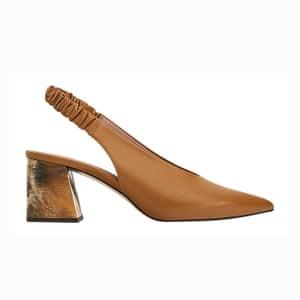Tan heels, £120, uterque.com.