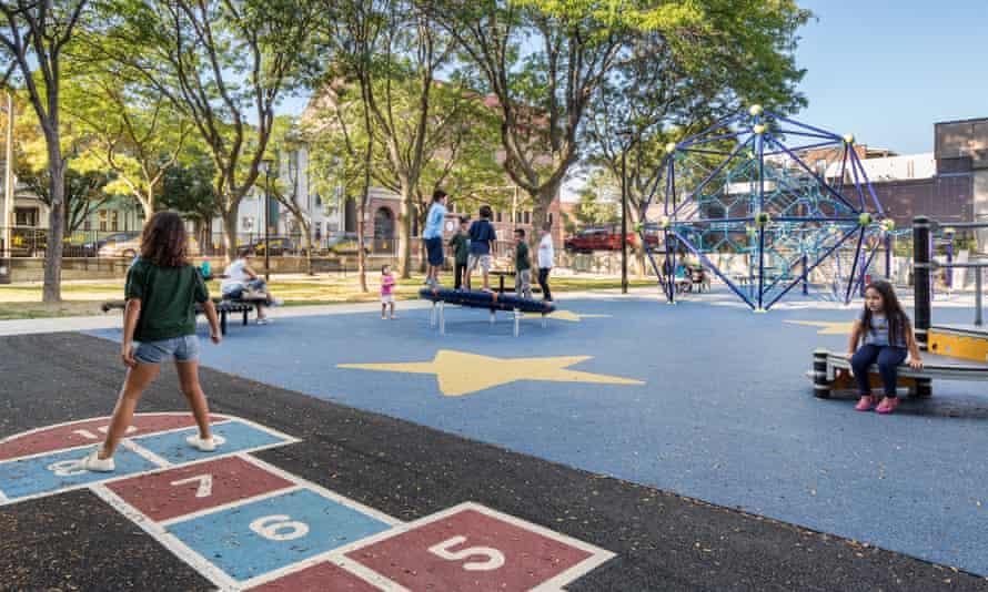 Paris Street Playground in East Boston
