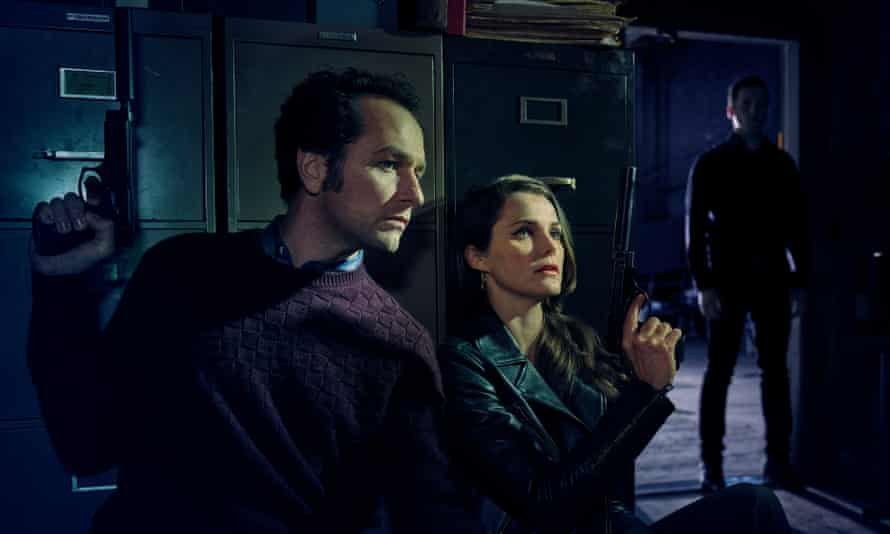 Matthew Rhys and Keri Russell in season five of The Americans