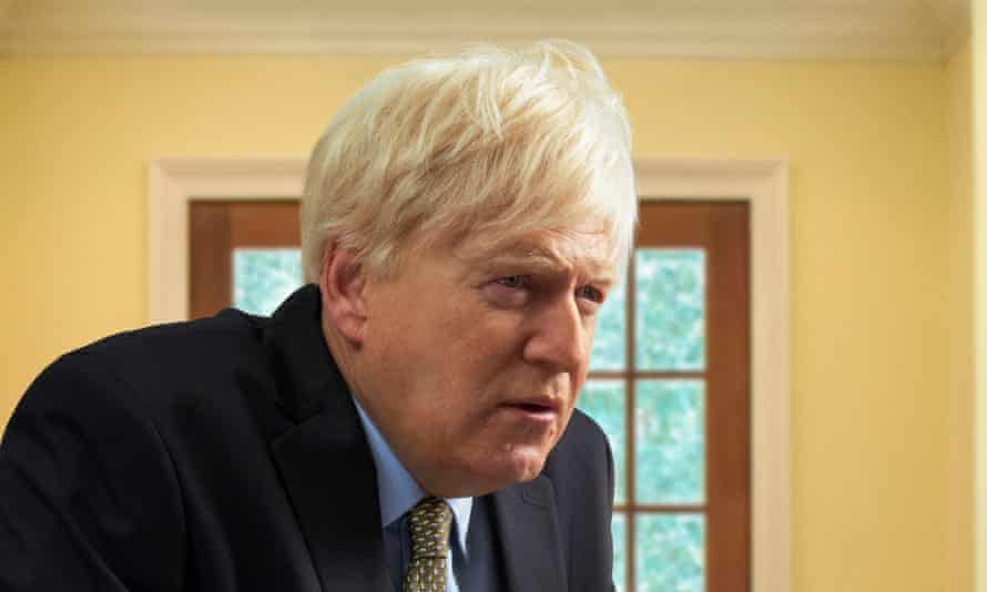 Sir Kenneth Branagh as Boris Johnson in This Sceptred Isle.