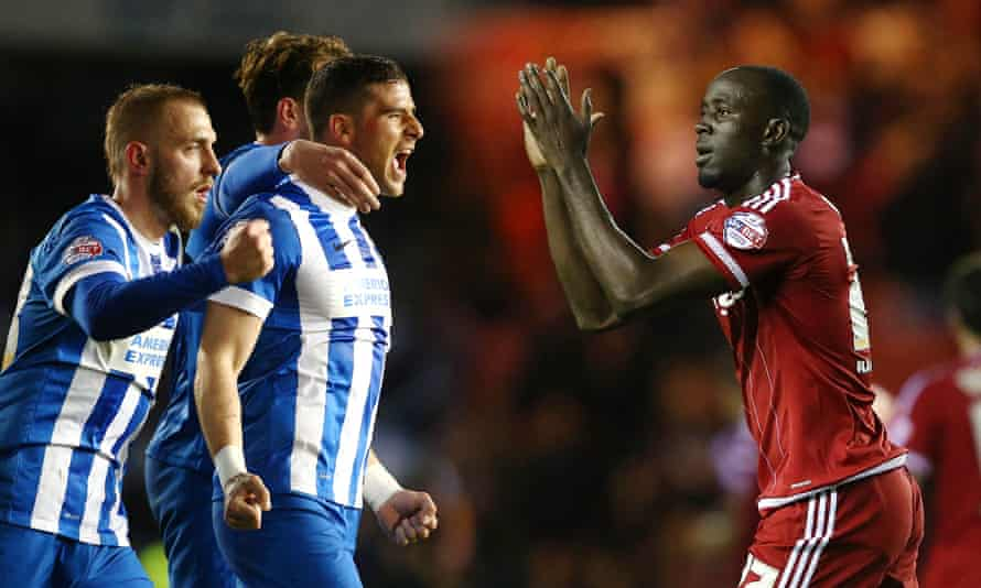 Brighton head for Middlesbrough knowing that only a win will secure their place in the Premier League.