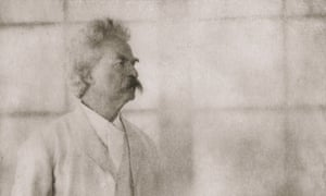 """""""Mark Twain<br>American writer and humourist Mark Twain (1835 - 1910) at Stormfield, his home in Redding, Connecticut, 21st December 1908. Photogravure from 'Men of Mark' - published 1913. (Photo byGetty Images)"""""""