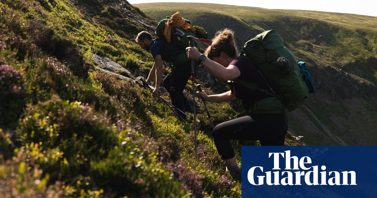 'It was about the simplicity of it': duo first to hike Cairngorms straight line