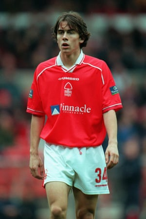 David Prutton playing for Forest in 1999