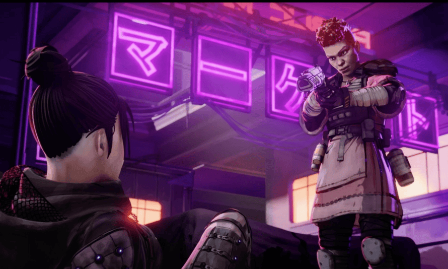 The Apex Legends teaser trailer, revealed via Twitch on Monday evening, shows the game's distopian sci-fi aesthetic – and its diverse character roster