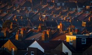 Houses in Brockley, south-east London.