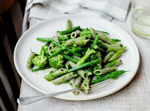 Pistou: like pesto, but French and heavy on the garlic.