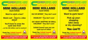 Mini Holland posters composite