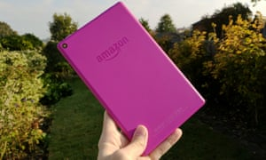 Amazon Fire HD 8 2016 review - back
