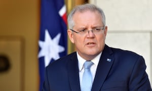 Scott Morrison announces more coronavirus response measures in Canberra on Sunday.