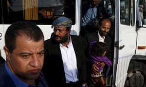 Some of the 19 Yemeni Jews brought to Israel by the Jewish Agency for Israel at an absorption centre in Beersheba.