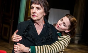 Penelope Wilton as Valentina and Ophelia Lovibond as Sophie in David Hare's The Bay at Nice.