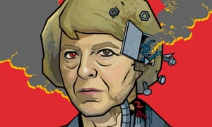 'Inside the Maybot, the last shards of the real Theresa were fighting to get out …'