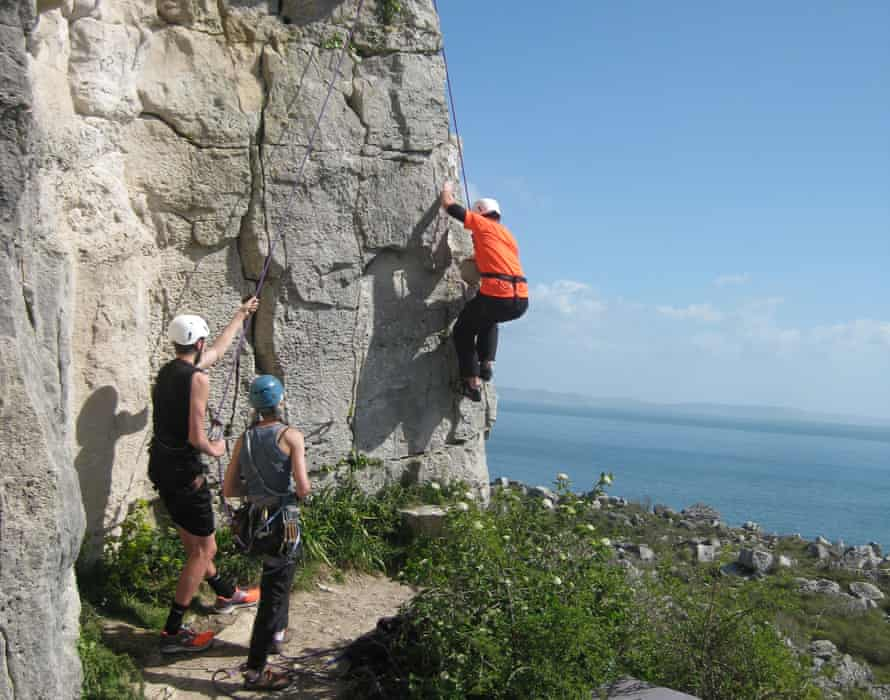 Rock climbing. Costa Blanca