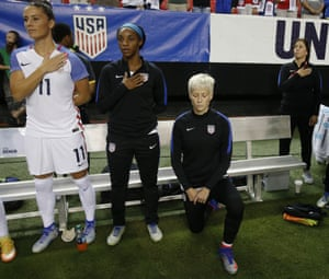 Megan Rapinoe says she will respect US Soccer policy for