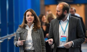 Fiona Hill and Nick Timothy, May's chiefs of staff.