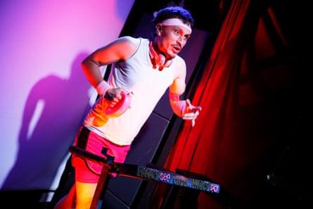 Richard Gadd performs his award-winning Edinburgh show Monkey See Monkey Do in 2016.