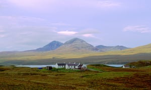 The Isle of Jura in the Inner Hebrides of Scotland.