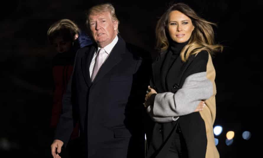 Melania Trump may not be as popular as her predecessor Michelle Obama but she is far more popular than her husband.