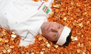 Marco Pierre White became the face of Knorr stock cubes a decade ago and is a devotee of jellied stock pots now.