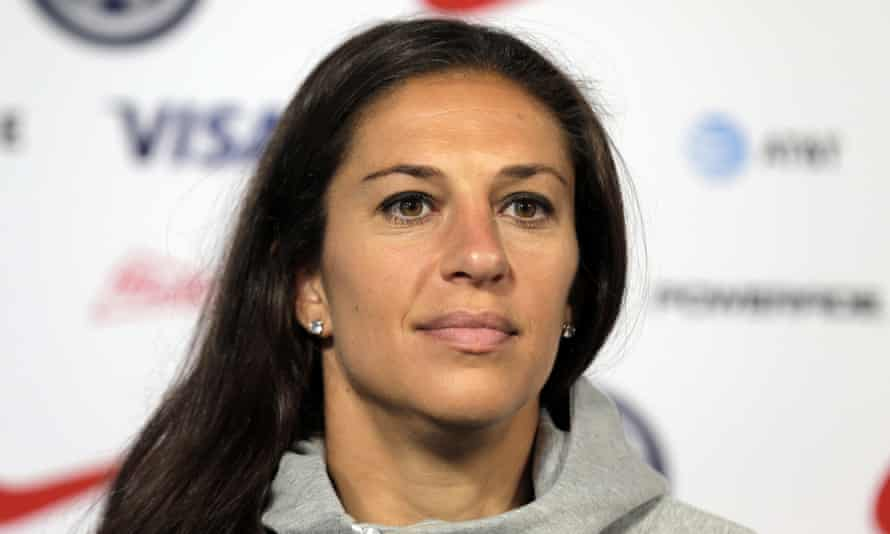 Carli Lloyd: 'I'm a fighter – I'll fight to the end. I know my age isn't a factor. My ability isn't a factor'
