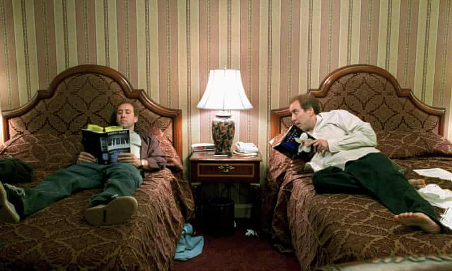Nicolas Cage as Charlie Kaufman and his 'less gifted writing twin' in Adaptation.