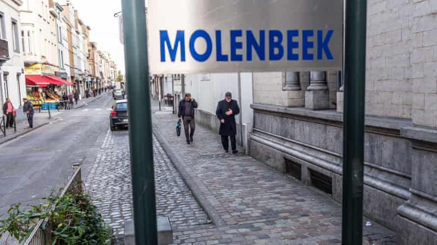 Molenbeek street scene