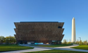 The building for the Smithsonian National Museum of African American History and Culture was designed by Tanzanian-born Briton David Adjaye.