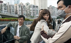 Viral hit ... Marion Cotillard, centre, in Contagion.