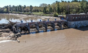 The Sanford dam failed this week, causing widespread flooding and thousands of evacuations along the Tittabawassee River.