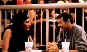 Forster, right, with Pam Grier in Jackie Brown.