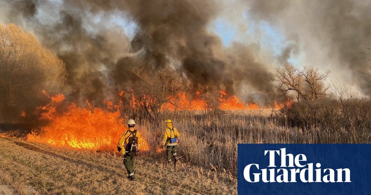 Wisconsin poised for devastating wildfire season as hundreds of blazes rage